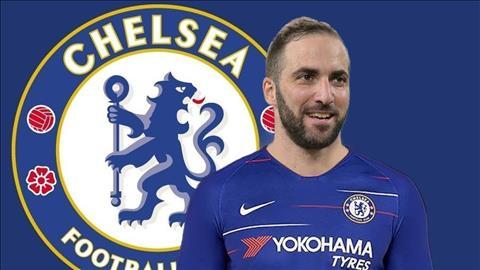Higuain sap ra mat Chelsea
