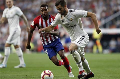 Real Madrid vs Atletico Nacho