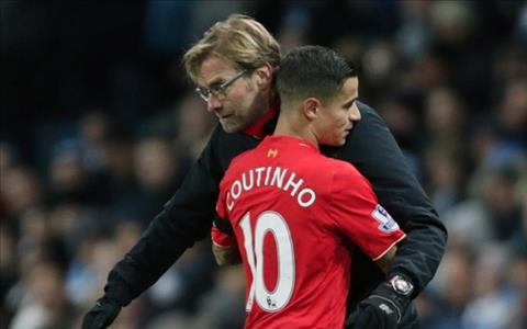 HLV Klopp len tieng truoc tin don Liverpool mua lai Coutinho