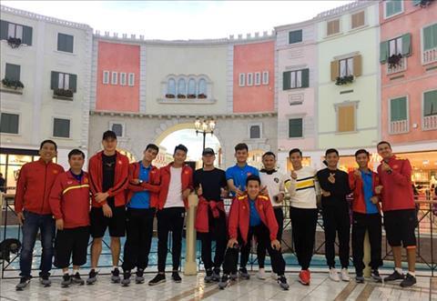 Các tuyển thủ Việt Nam được xả trại, thăm thú Qatar hình ảnh