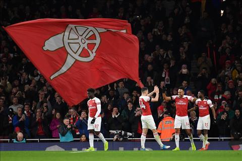 Thống kê Arsenal vs Fulham - Vòng 21 Ngoại hạng Anh 201819 hình ảnh