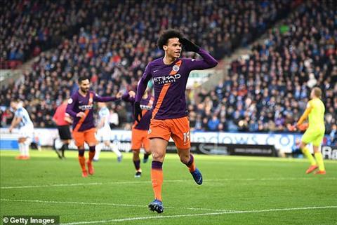 Man City danh bai Huddersfield voi ty so 3-0