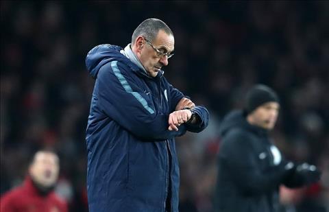 HLV Sarri của Chelsea liệu có bị làm phản ở Stamford Bridge hình ảnh