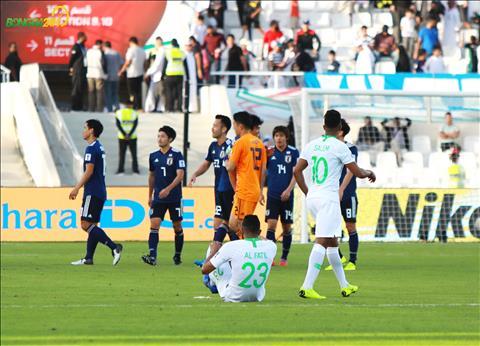 ẢNH Không thể gặp Việt Nam ở tứ kết, cầu thủ Saudi Arabia gục ngã trên sân hình ảnh 2
