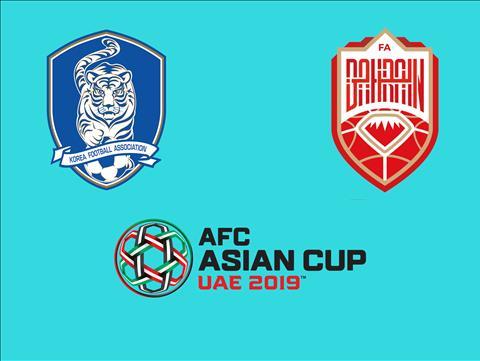 Hàn Quốc vs Bahrain 20h00 ngày 221 (Asian Cup 2019) hình ảnh