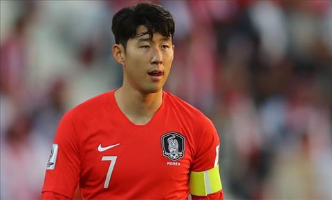 Son Heung-min nói về thất bại tại Asian Cup 2019 hình ảnh