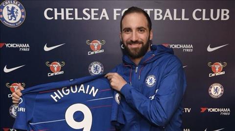 Tiền đạo Higuain gia nhập Chelsea và khen ngợi đồng đội Jorginho hình ảnh