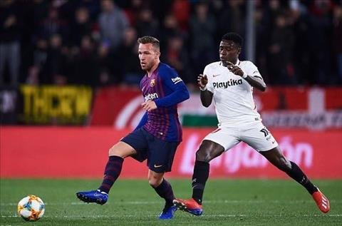 Barca vs Sevilla Arthur