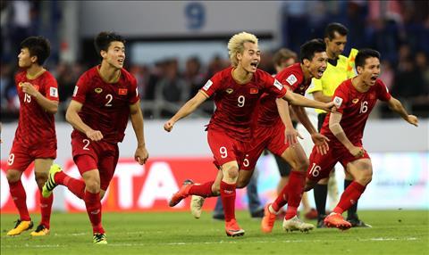 ĐT Việt Nam tăng hạng trên bảng xếp hạng FIFA tháng 42019 hình ảnh