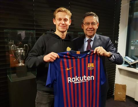 Bom tấn De Jong gia nhập Barca và lên tiếng thách thức Messi hình ảnh