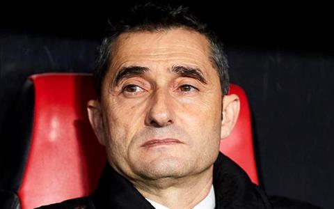 Ernesto Valverde phát biểu sau trận Sevilla 2-0 Barca hình ảnh
