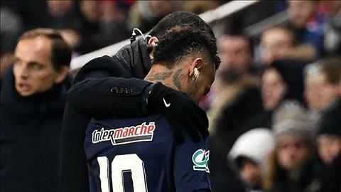 Neymar dính chấn thương, có thể lỡ đại chiến MU hình ảnh
