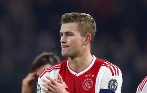 Theo chân De Jong, Matthijs de Ligt muốn tới Barca hình ảnh