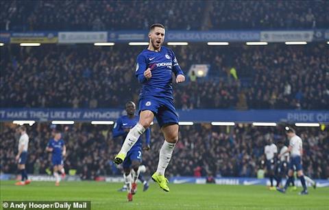 Đánh bại Spurs, Chelsea vào chung kết cúp Liên đoàn Anh 201819 hình ảnh