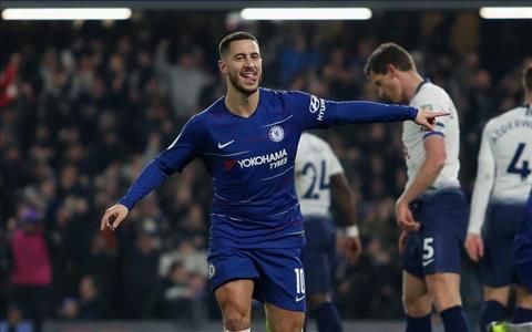 Eden Hazard đáp trả chỉ trích của Maurizio Sarri hình ảnh