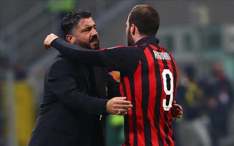 Gennaro Gattuso nói về thương vụ Gonzalo Higuain sang Chelsea hình ảnh
