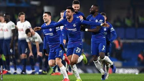 HLV Maurizio Sarri nói về trận Chelsea vs Tottenham hình ảnh