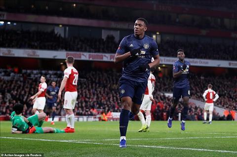 Martial Du am Arsenal 1-3 MU vong 4 FA Cup