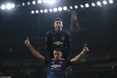 Arsenal 1-3 Man Utd Thắng thua phân định từ băng ghế chỉ đạo hình ảnh 4