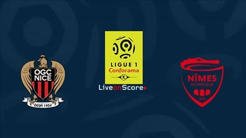 Nice vs Nimes 2h00 ngày 271 (Ligue 1 201819) hình ảnh