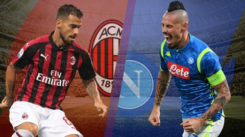 AC Milan vs Napoli 2h30 ngày 271 (Serie A 201819) hình ảnh