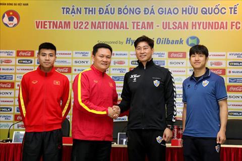 U22 Viet Nam vs Ulsan Hyundai