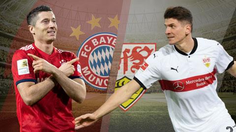 Bayern Munich vs Stuttgart 21h30 ngày 271 (Bundesliga 201819) hình ảnh