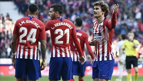 Video bàn thắng kết quả Atletico Madrid vs Getafe 2-0 La Liga hình ảnh