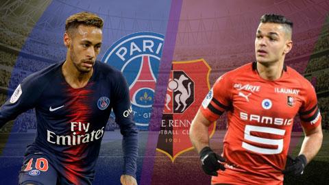 PSG vs Rennes 3h00 ngày 281 (Ligue 1 201819) hình ảnh