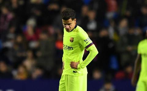 Barca muốn bán Philippe Coutinho chỉ 1 năm sau khi chiêu mộ hình ảnh