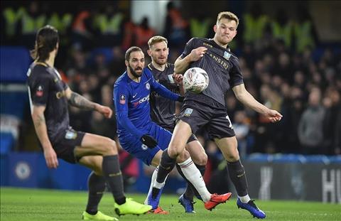 Chelsea vs Wednesday Higuain ra mat