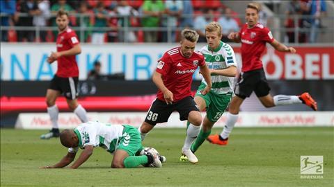 Greuther Furth vs Ingolstadt 2h30 ngày 301 (Hạng 2 Đức 201819) hình ảnh