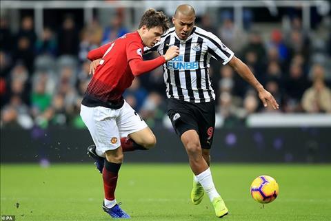 Lindelof vs Newcastle