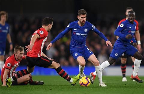 Chelsea vs Southampton Jorginho