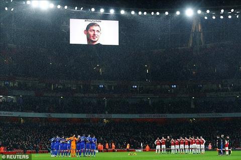 Premier League cầu nguyện cho Sala ở vòng đấu 24 hình ảnh