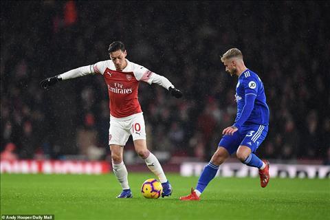 HLV Emery hài lòng về Ozil trong trận thắng Cardiff hình ảnh