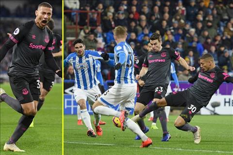 Huddersfield thua 0-1 truoc Everton du da hon nguoi