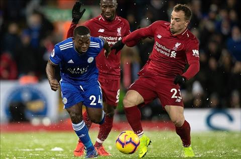 Liverpool vs Leicester Shaqiri and mendy