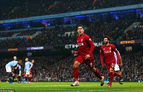 Man City vs Liverpool Firmino