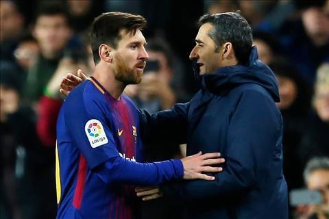 Lionel Messi va Ernesto Valverde