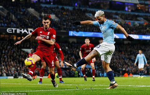 Man City vs Liverpool Aguero vs Lovren