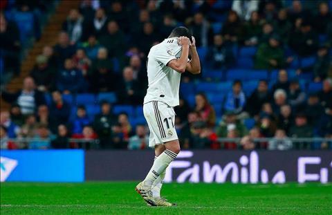 Real Madrid không may mắn trong mùa giải 201819 hình ảnh
