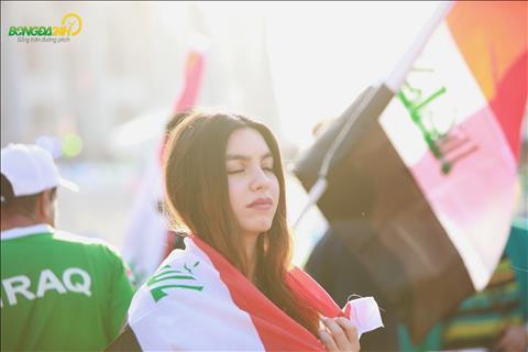 Duoi cai nang tai UAE, cac nu CDV Iraq duong nhu cang tro nen dep hon.