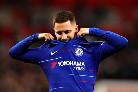 Hazard that vong voi cac dong doi sau tran thua Spurs