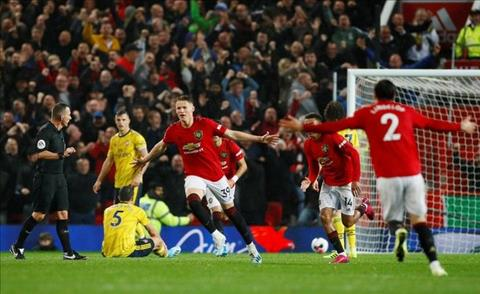 MU vs Arsenal McTominay