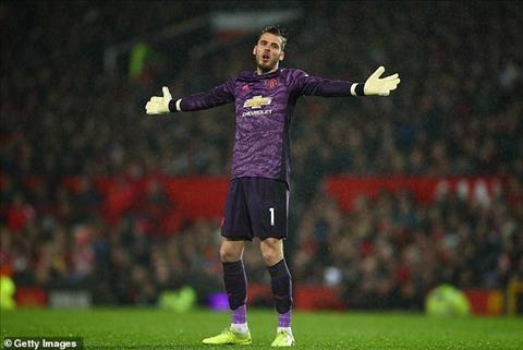 Thủ môn De Gea thừa nhận toàn đội mắc sai lầm sau trận hoà Arsenal hình ảnh
