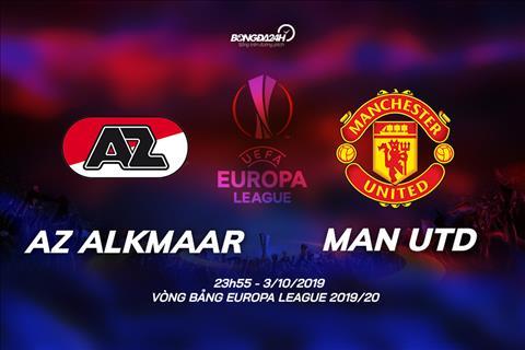 Trực tiếp AZ Alkmaar vs MU Cúp C2 châu Âu Europa League 201920 hình ảnh