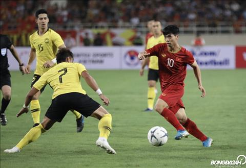 DT Viet Nam vs Malaysia Cong Phuong