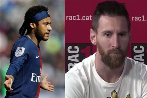 VIDEO Messi lo ngại Neymar sang Real Madrid hè vừa qua hình ảnh