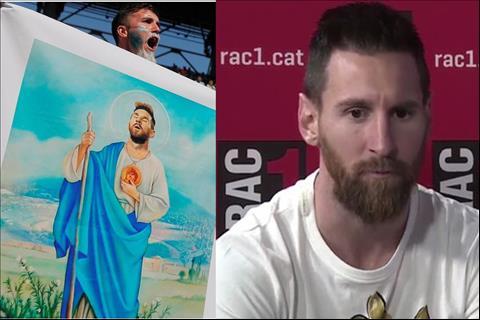 VIDEO Messi không thích được gọi là Chúa hình ảnh